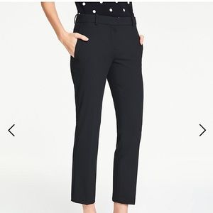 Ann Taylor Signature Straight Fit Ankle Pants
